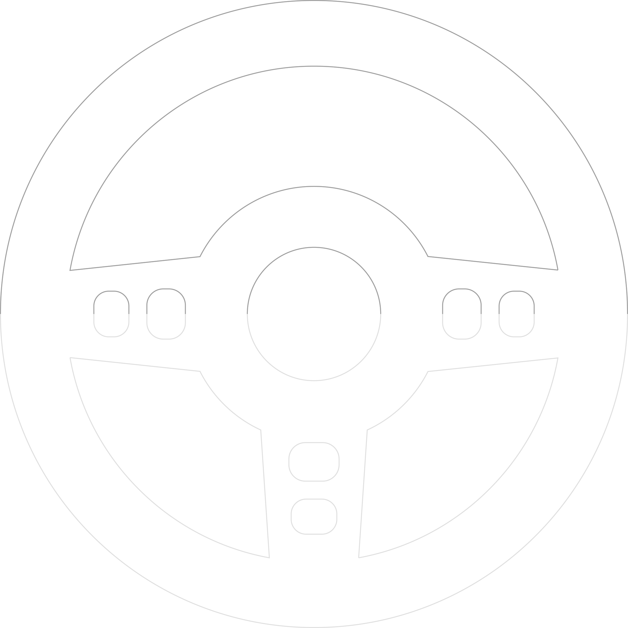 Selected Car Collection steering wheel